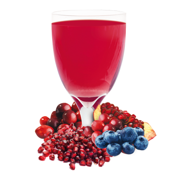 Blueberry and Cran-Granata Drink Mix