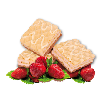 Strawberry Wafers